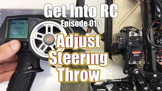 We Need More Steering Captain! How To Adjust RC Car Steering - Get Into RC | RC Driver
