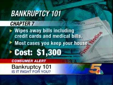 When is Bankruptcy the Best Option?