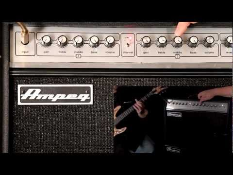 Ampeg GVT Tube Guitar Amps -- Baxandall EQ Explained