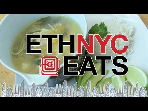 Dominican Squash Chicken Soup : ETHNYC Eats