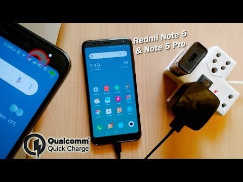 Redmi Note 5 & Note 5 Pro Qualcomm Fast Charging Test | Let's Check If it Supports Quick Charging