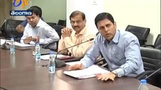Progress Of Skill Development | CS SP Singh Holds Review Meet | With Officials | Hyderabd