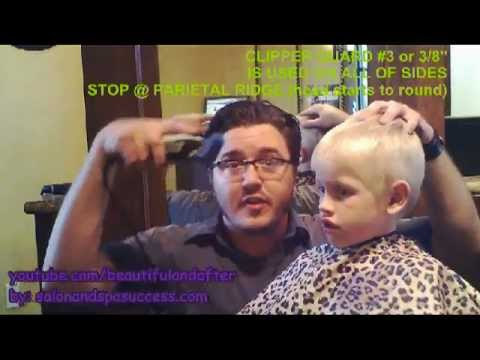 BASIC BOYS HAIRCUT drycut w/ clippers & scissors