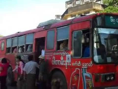 Myanmar: Daily transportation in Yangon