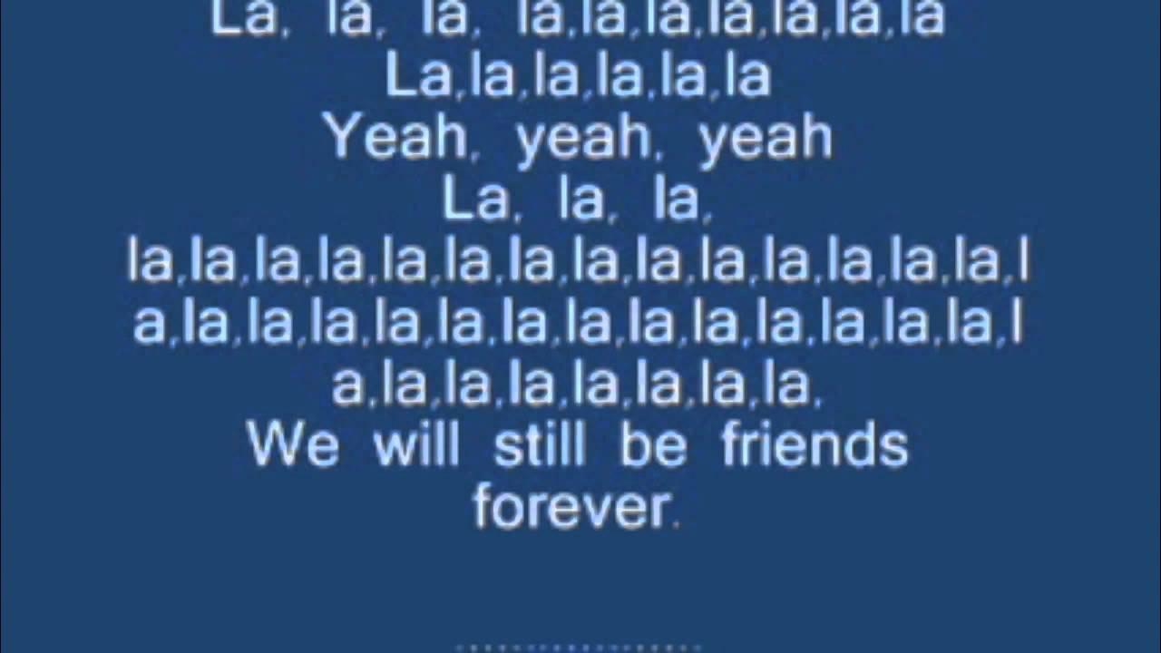 Graduation friends forever vitamin c lyrics
