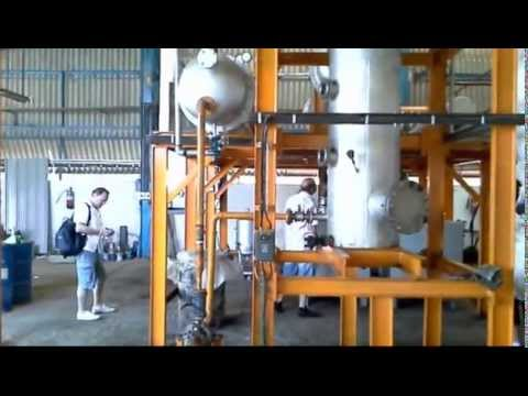 Depolymerization plant India - waste plastic and used tires to fuel