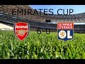Arsenal 6-0 Lyon (Full Match) ● Emirates Cup ● 25072015