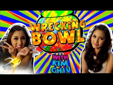 Part 1 Kim Chiu answers questions from the Wrecking Bowl