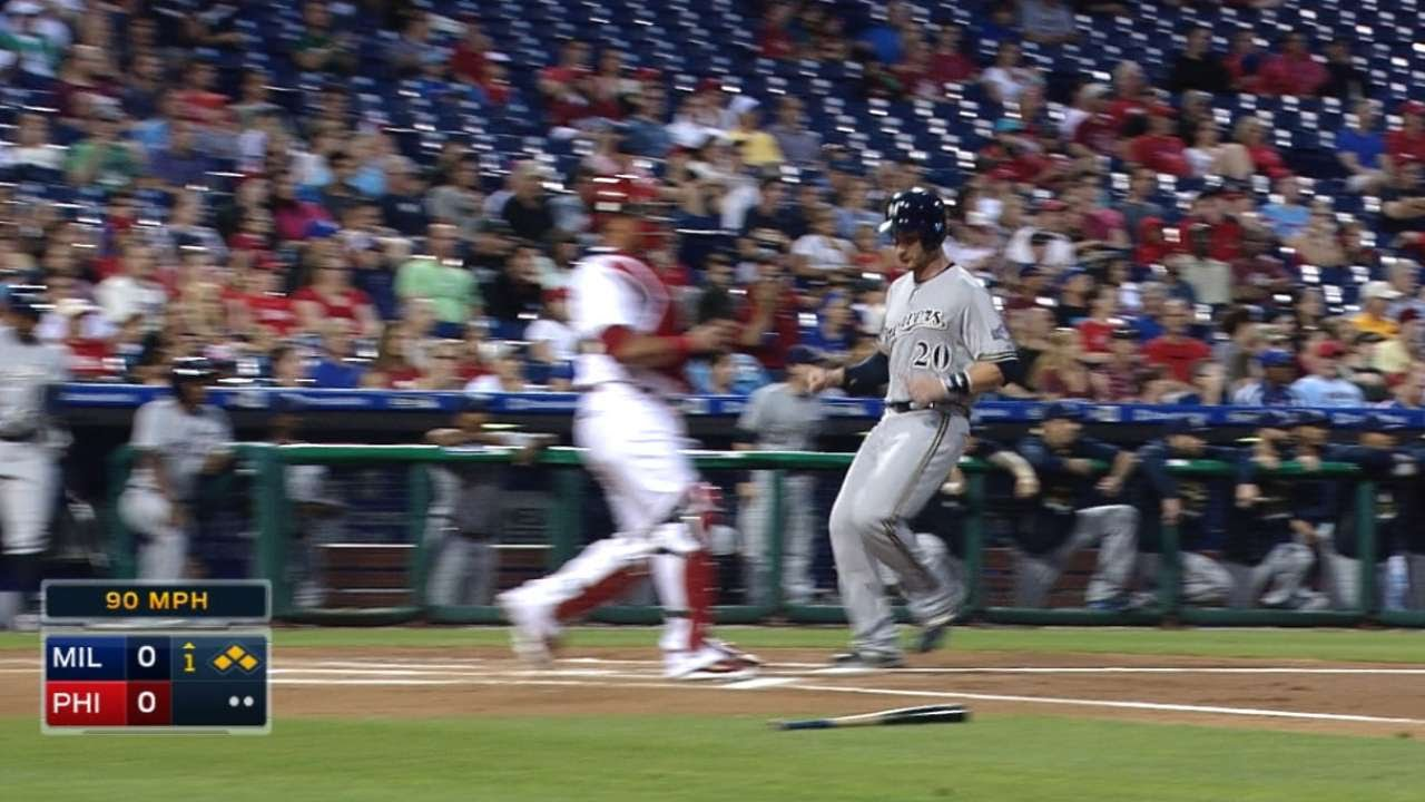 6/30/15: Brewers take lead in wild 8th and win game
