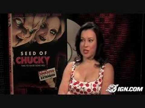 Jennifer Tilly Seed of Chucky interview #2