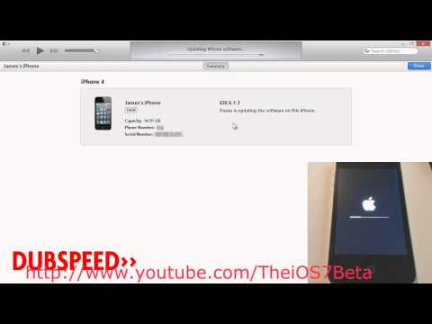 How to Install iOS 7 Beta Free Bypass Developer Account No UDID Activation