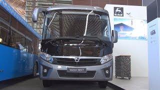 GAZ Vector Next Bus (2019) Exterior and Interior