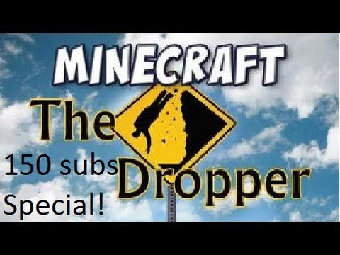 Minecraft: 150 SUBS SPECIAL [Custom map: The Dropper] [Dansk Commetnary]