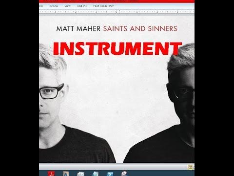 Matt Maher - Instrument