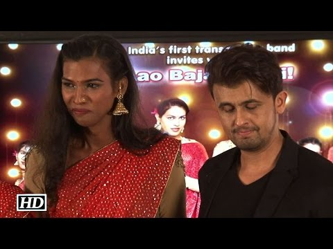 Sonu Nigam Crying On Stage At Launch Of India's First Transgender Band