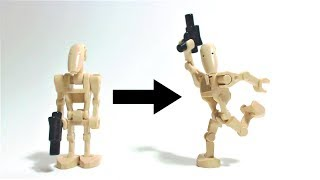 How to make LEGO Droids WALK ?