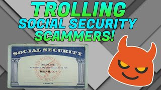 Scammer suspends my social security number! [SSN scammer]