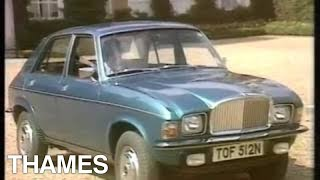 Austin Allegro Vanden Plas | Retro Car | Car Review | Drive in | 1974