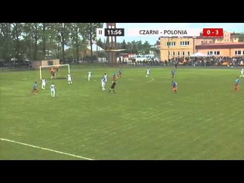 Czarni Węgrów - Polonia Warszawa 1:4 / Cały Mecz