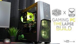 Php95K Cooler Master X Asus TUF Gaming PC Timelapse Build