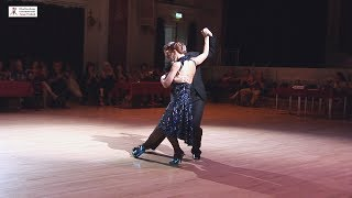 2017 Graciela and Osvaldo dance tango to Corrientes y Esmeralda