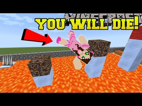 Minecraft: YOU WILL DIE!!! (WORLD RECORD HARDEST PARKOUR!!) Custom Map [2]