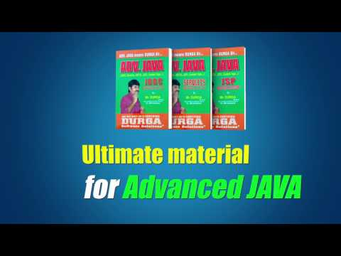 Adv.Java ULTIMATE Material By Mr. DURGA SIR