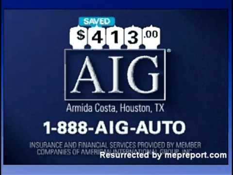"Old AIG Commercial - ""Auto Hybrid"""