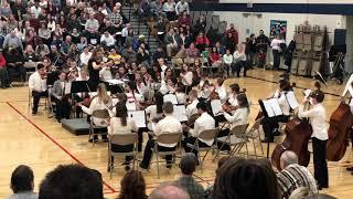 "Oakview/Ridge Orchestra playing ""Deep Sea Fandango"""