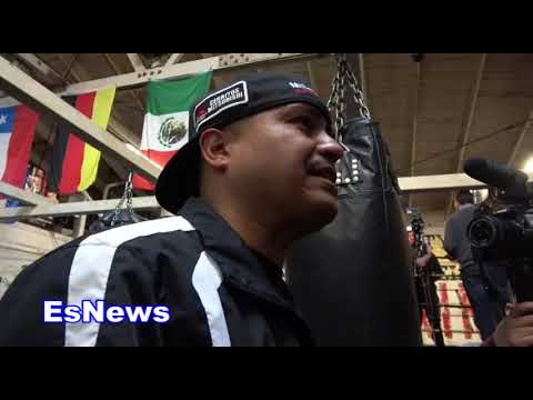 what did brandon rios tell robert garcia after danny garcia fight EsNews Boxing