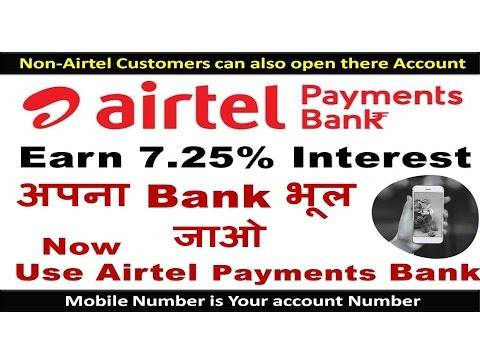 How To Open An Account In Airtel Payments Bank |Airtel Payments Bank Launched| Narendra Modi's India