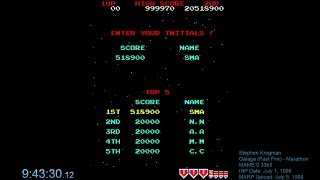 Galaga [Fast-Fire] - MAME - 20,518,900 (WR!)