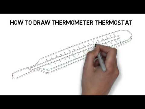 Digital Thermometer Drawing How to Draw Thermometer