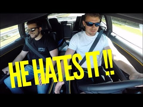 Mustang LOVER Reviews My Challenger Scat Pack! HE HATES IT!!!