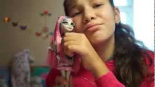 Моя новая кукла MONSTER HIGH