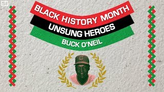 Buck O'Neil, the MLB's first black coach Black History Month Sports Illustrated