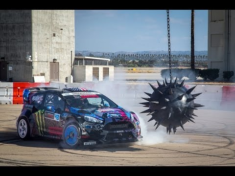 Need for Speed: Ken Blocks's gymkhana six — Ultimate gymkhana grid course
