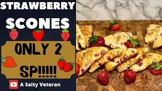 WW Strawberry Scones | weight watchers blue plan | MY WW journey