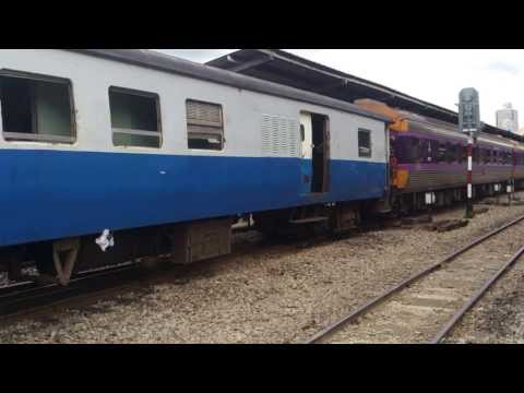 SRT Special Express No.35 Bangkok – Butterworth departing from Bangkok Station