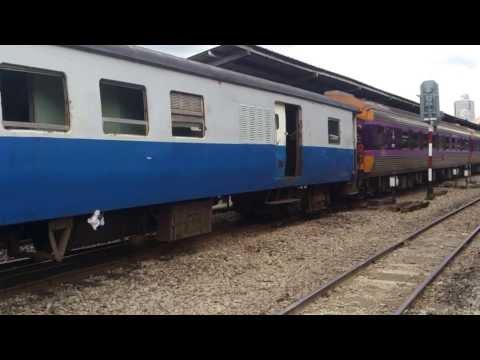 SRT Special Express No.35 Bangkok – Butterworth departing from Bangkok Station