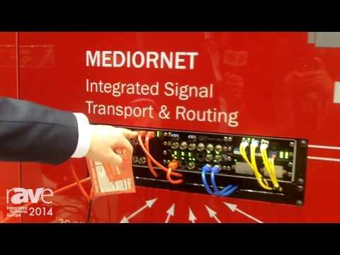 ISE 2014: Reidel Outlines ROCKNET Audio Distribution Platform