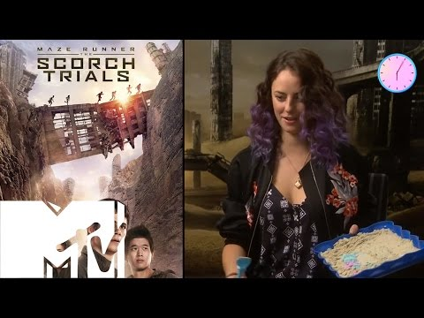 The Maze Runner Cast Recreate Movie Poster With Sand Art | MTV