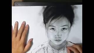 Học Vẽ online -Cách vẽ người - cách vẽ trẻ em p2