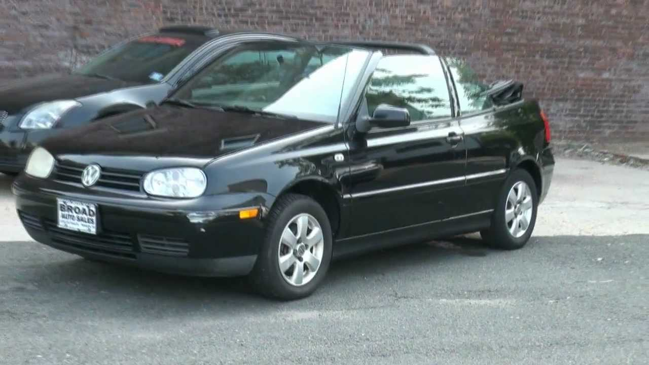 2001 volkswagen cabrio glx youtube. Black Bedroom Furniture Sets. Home Design Ideas