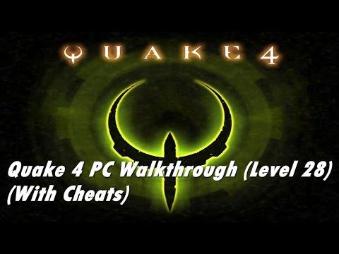 Quake 4 Level 28 - Data Network Terminal (with cheats)