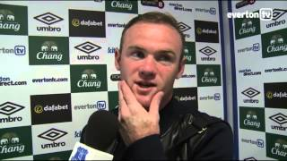 Wayne Rooney On His Everton Return