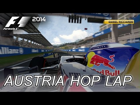 F1 2014 - PS3/X360/PC - Austrian Red Bull Ring Hot Lap (Gameplay Trailer)