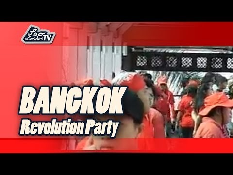 Thailand: Truth Today in Bangkok. Revolutions Party der Rote Hemden – Red Shirts