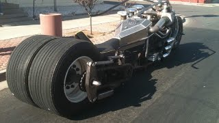 Crazy Turbo Diesel Motorcycle You have NEVER seen