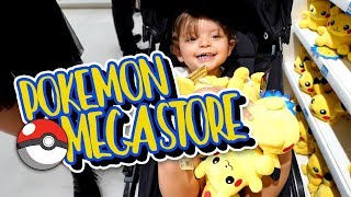 Visiting The REAL LIFE Pokemon Center in Tokyo, Japan!!